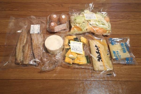 ヨシケイ・プチママ水曜の食材