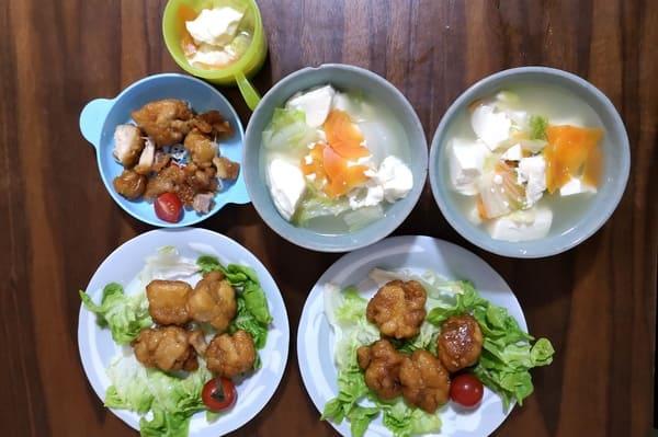 ヨシケイカットミール木曜の調理後写真