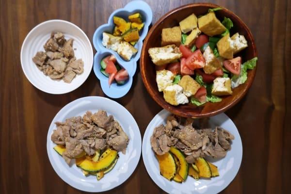 ヨシケイカットミール火曜の調理後写真