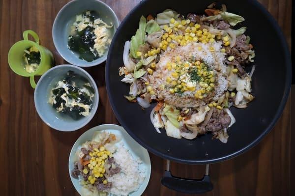 ヨシケイカットミール金曜の調理後写真