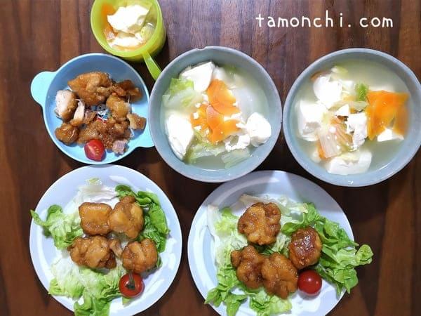 ヨシケイで作った料理の写真。