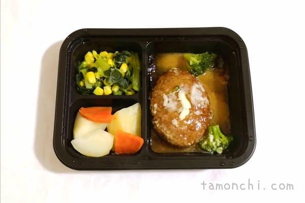 シンプルミールのお弁当の写真