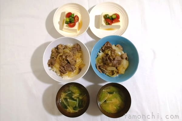 ヨシケイの定番水曜日の調理後写真
