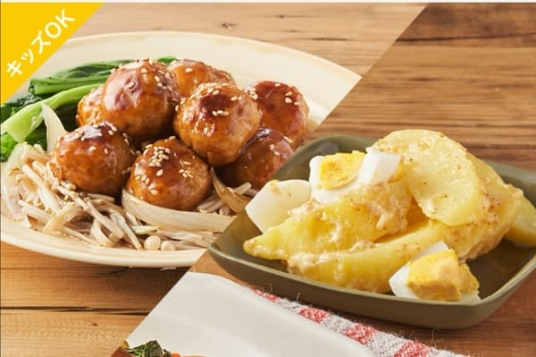 ぱくぱく鶏団子の中華風とろ炒め