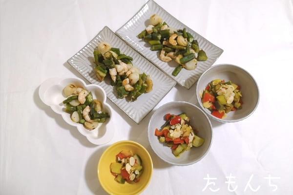 おいしっくすくらぶの食材で作った料理