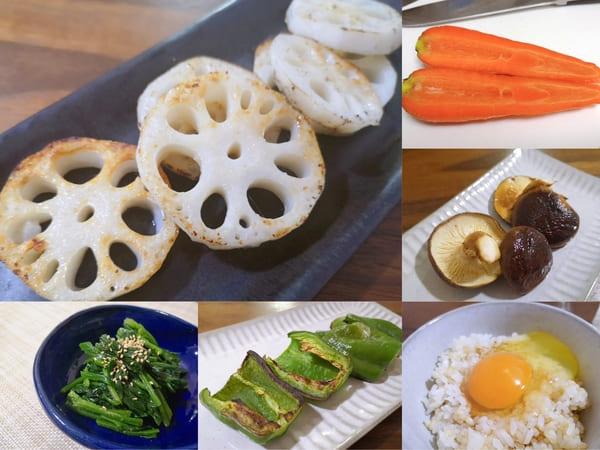 らでぃっしゅぼーやの野菜で作った料理