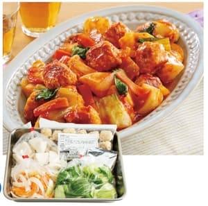チキンとかぶのトマト煮の写真