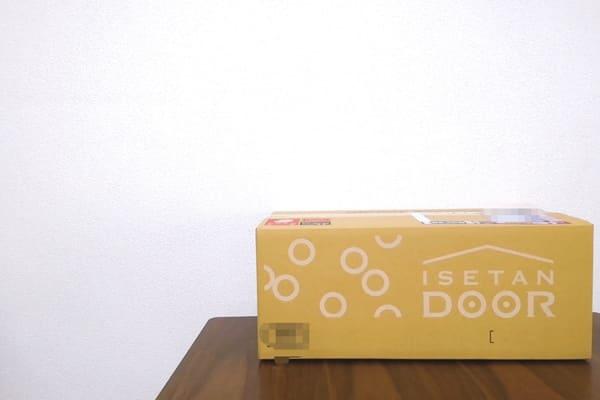 伊勢丹ドアお試しの箱