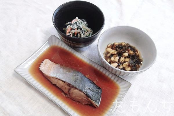 宮崎産はまちの煮付けの調理後写真