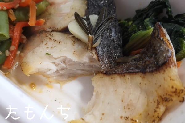 魚のおかずの写真